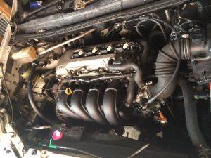 エンジン交換 完了