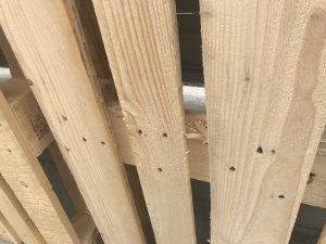 木製パレット とげ