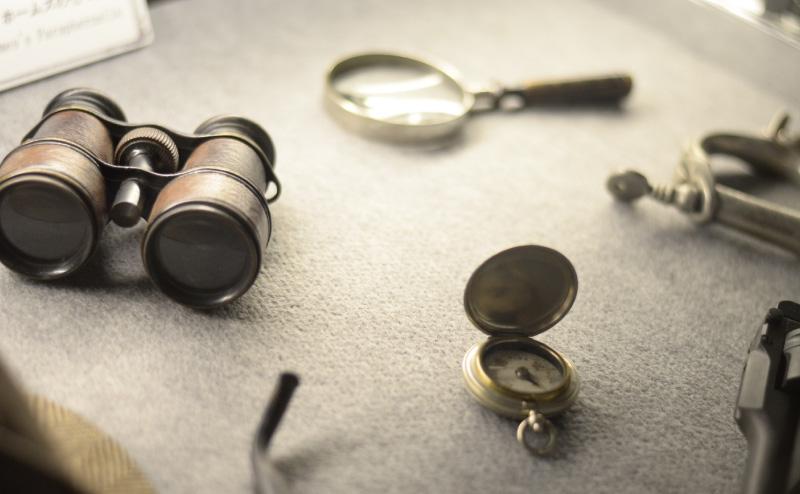 探偵の七つ道具っぽい画像