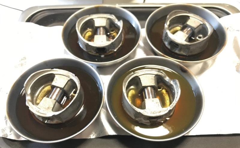 ホットプレートでオイル添加剤を温める
