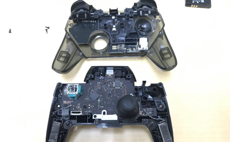 Nintendo Switch Proコントローラー分解3