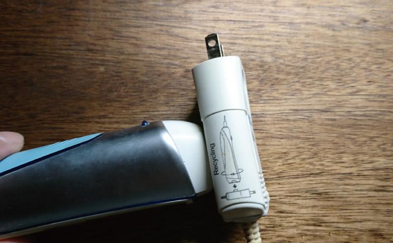 電動歯ブラシ分解1