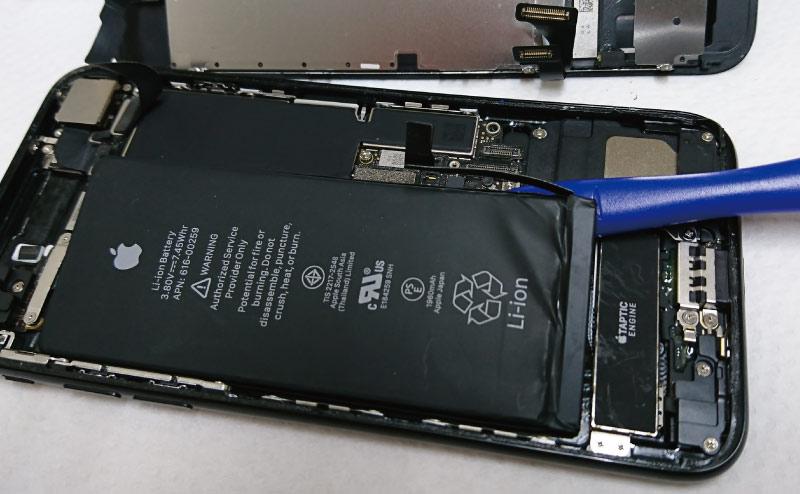 iPhoneバッテリー交換 失敗