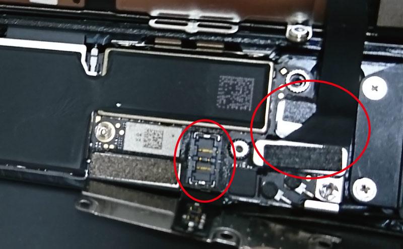 バッテリーの端子を外す