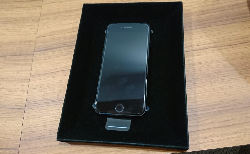 交換されたiPhone7